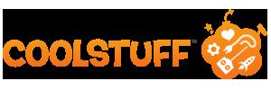 Logotyp för CoolStuff som säljer studentpresenter